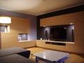 moderner Wohnzimmerschrank furniert in Eiche hell2