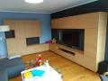 moderner Wohnzimmerschrank furniert in Eiche hell