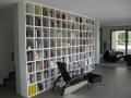 Bücherwand modern